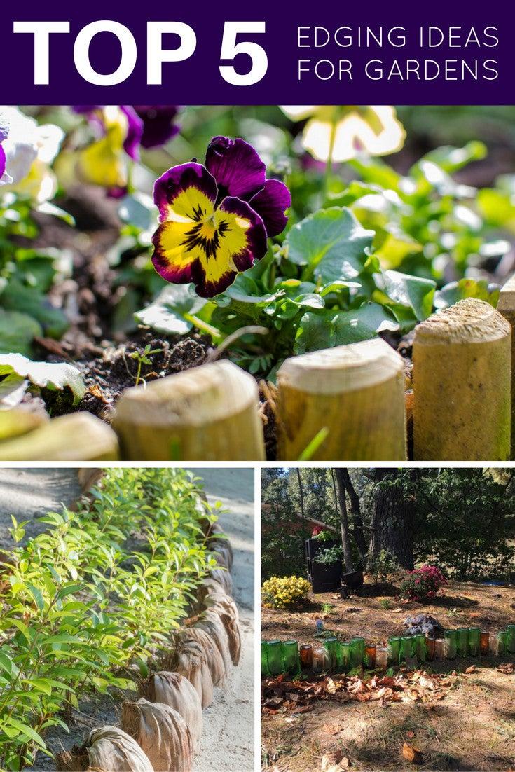 Top 5 Edging Ideas for Gardens