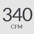 340cfm
