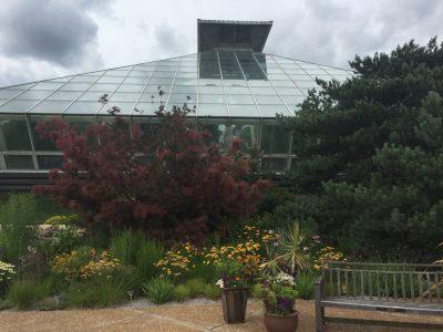Olbrich Botanical Garden indoor tropical conservatory