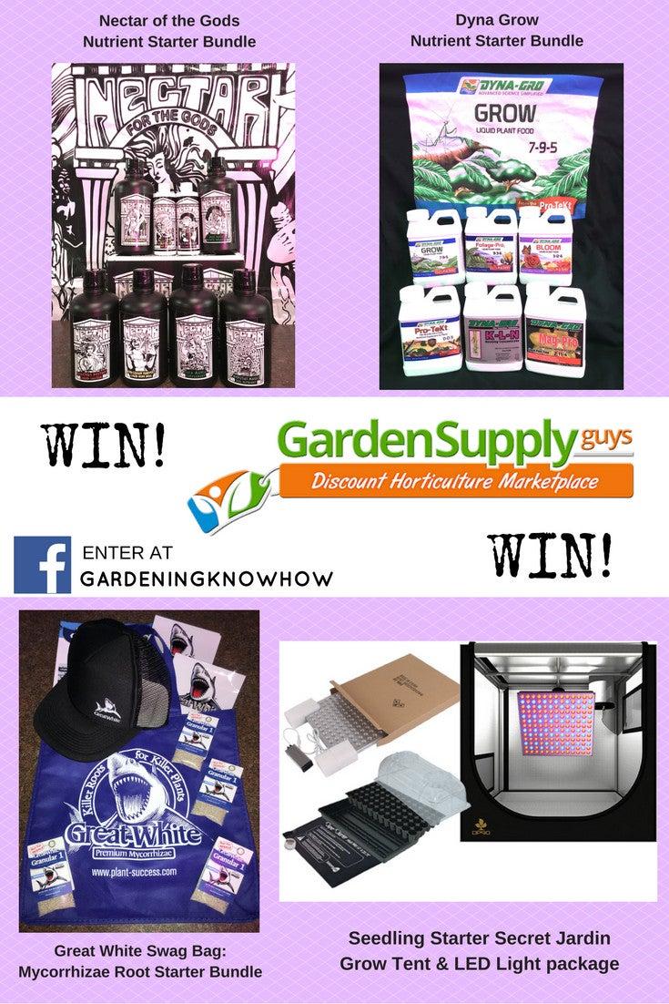 garden supply guys prize pack giveaway - Bloom Garden Supply