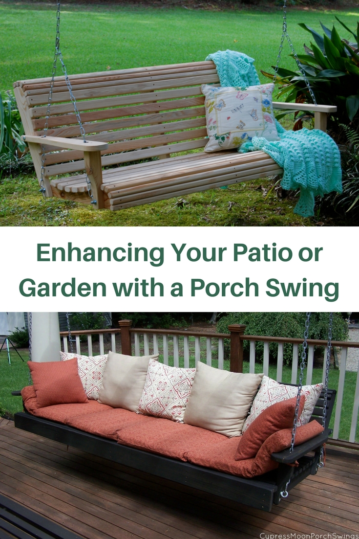 Enhancing Your Patio Or Garden With A Porch Swing   Gardening Know Howu0027s  Blog