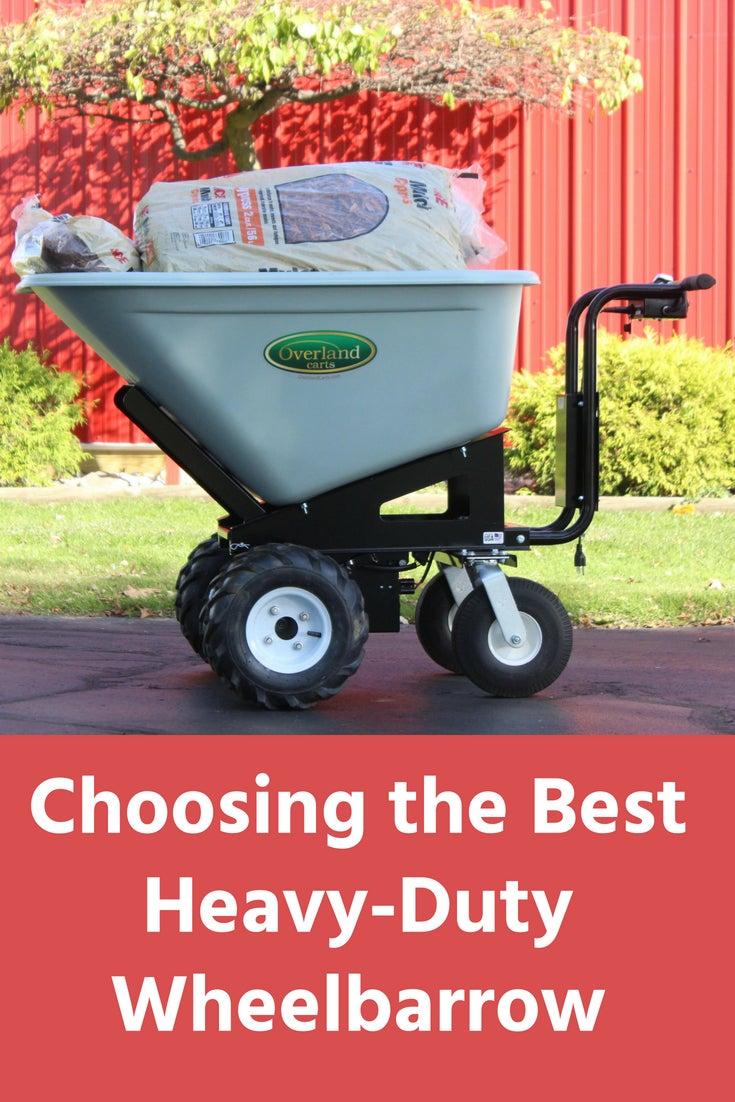 Choosing The Best Heavy Duty Wheelbarrow For Landscaping. Garden Trends